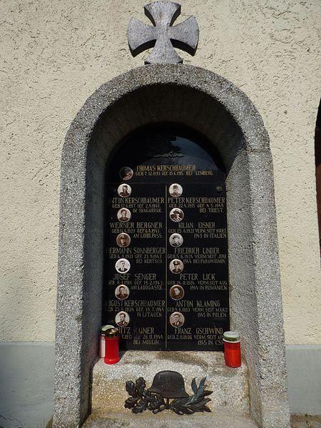 World War II Memorial Zienitzen