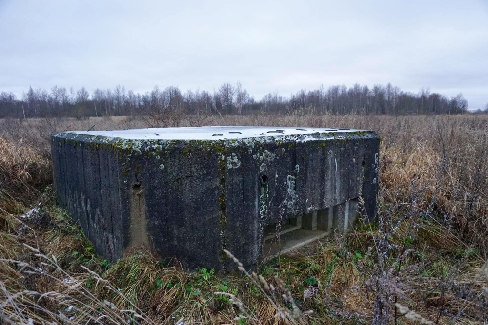 Soviet Machinegun Pillbox Maloye Sirkovo