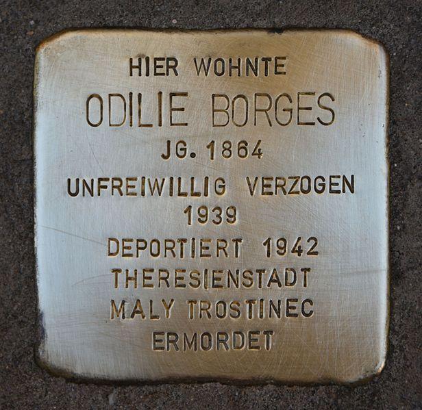 Stolperstein Alberstraße 18