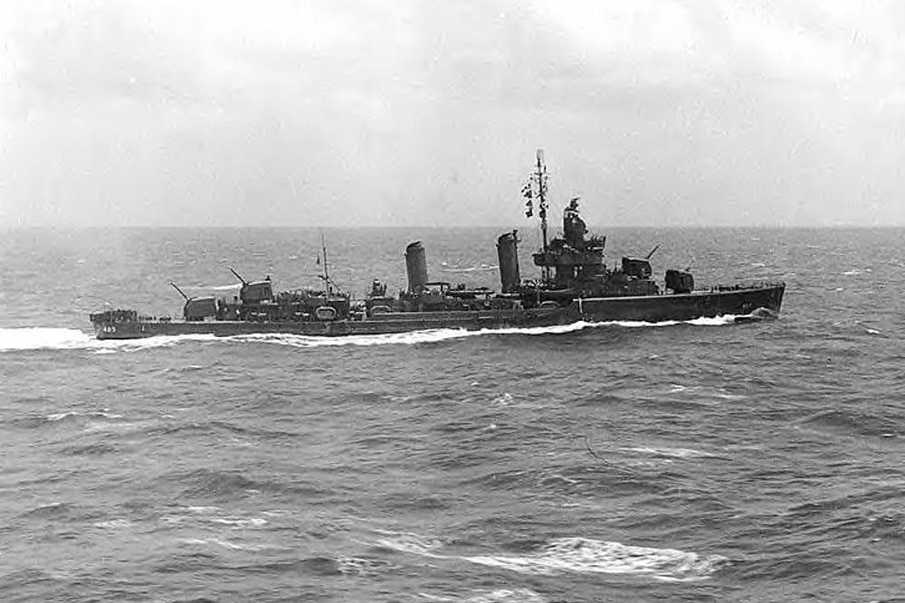 Shipwreck USS Duncan (DD-485)