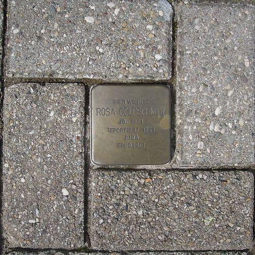 Stolperstein Moltkestraße 11