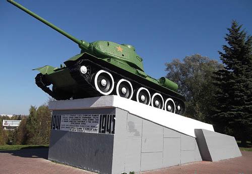 Liberation Memorial (T-34/85 Tank) Velikiye Luki
