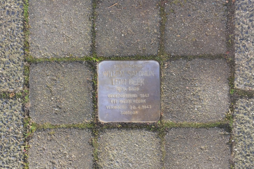 Stolperstein Gijsbrecht van Amstelstraat 107