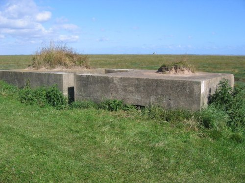 Lincolnshire Three-bay Pillbox Tetney Lock