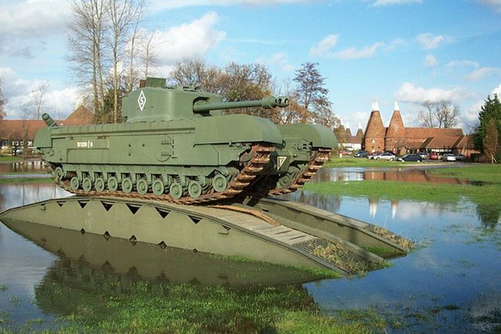 Churchill Mark VII Crocodile Tank