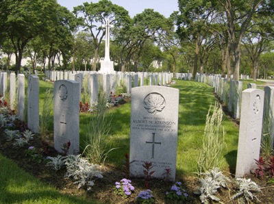 Commonwealth War Graves Brookside Cemetery