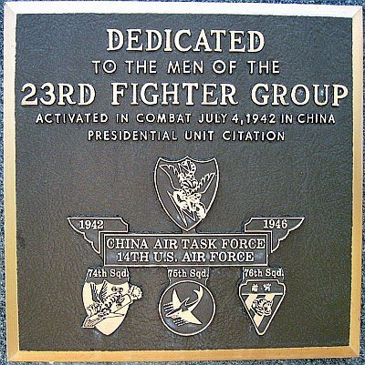 23rd Fighter Group Memorial