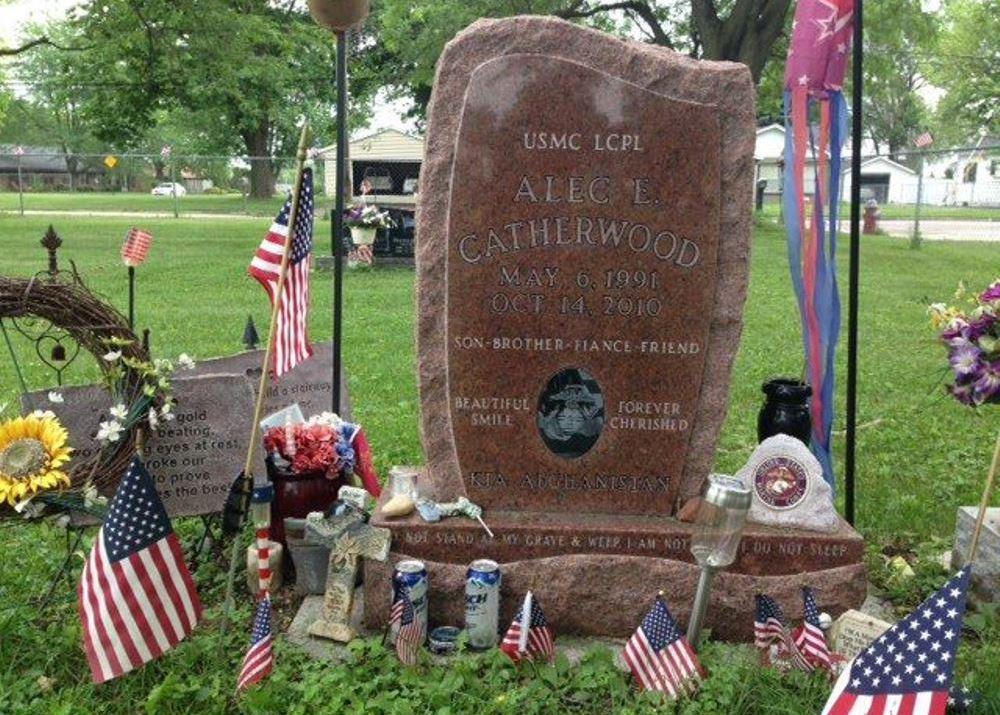 Amerikaans Oorlogsgraf Byron Cemetery