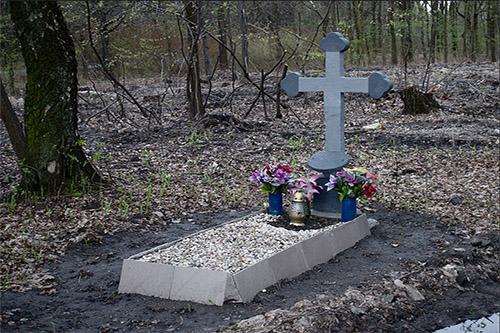 Symbolic Field Grave Polish Soldier