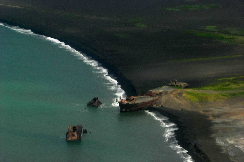 Breakwater Japanese Shipwrecks