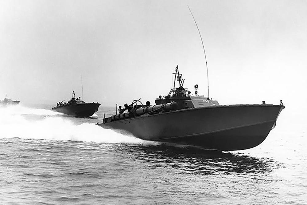 Scheepswrakken U.S.S. PT-202 & PT-218