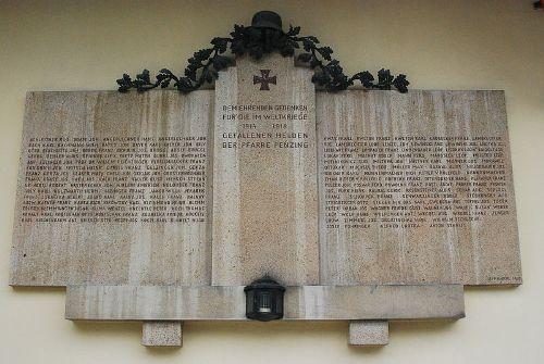 War Memorial Penzing