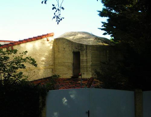 Gecamoufleerde Regelbau 669 Bunker Pointe de Suzac