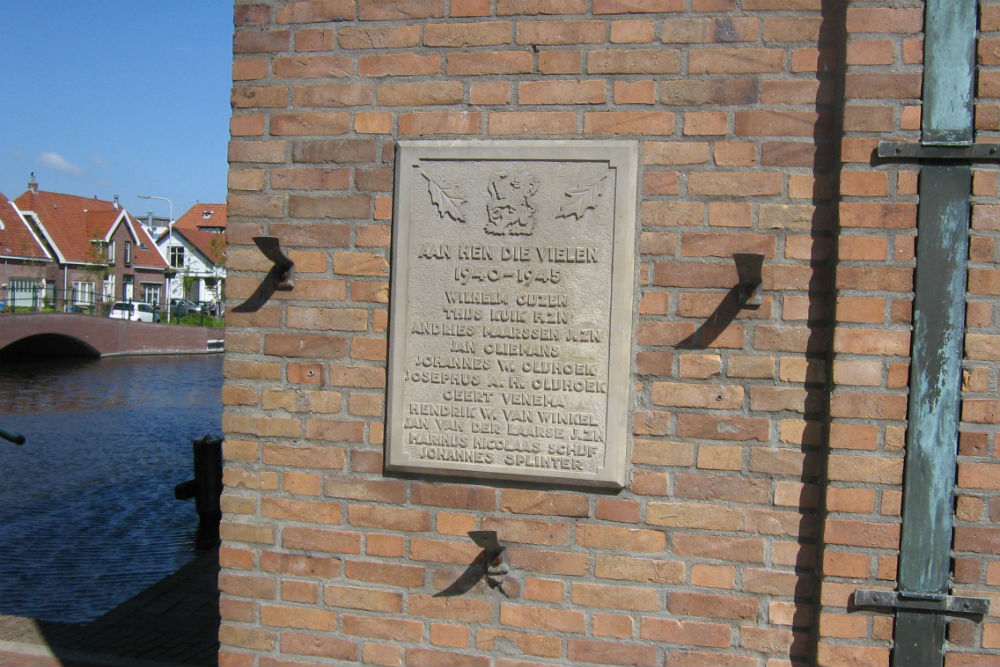 Oorlogsmonument Aalsmeer