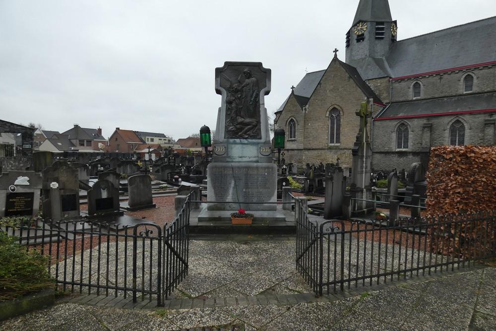 War Memorial Scheldewindeke