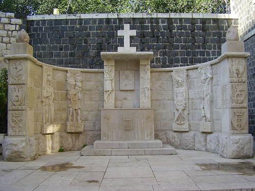 Pools Oorlogsgraf & Monument 2e Poolse Korps Tiberias