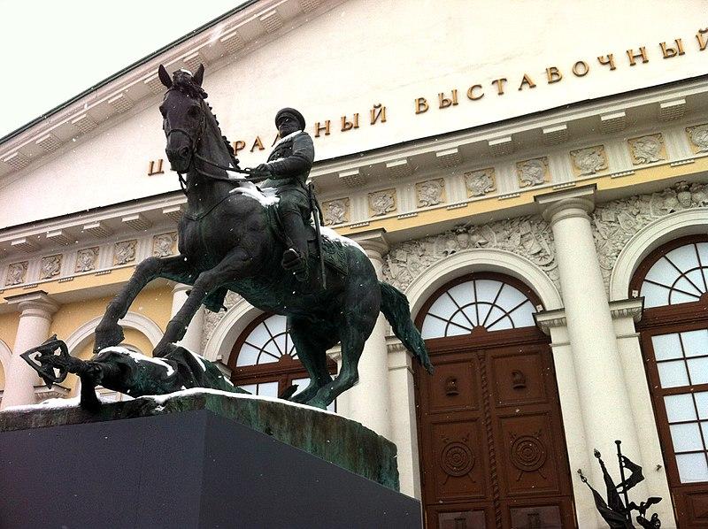 Equestrian Statue of Georgi Zjoekov