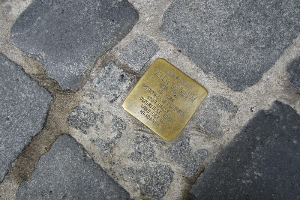 Stumbling Stone Grüner Markt 31