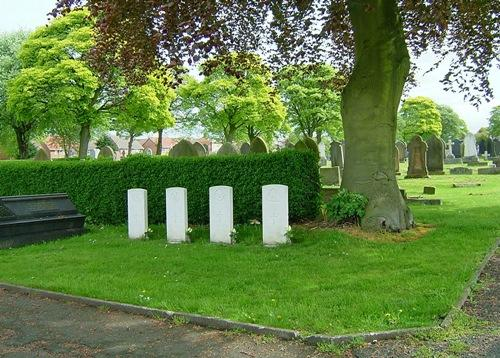 Commonwealth War Graves Houghton-le-Spring Cemetery