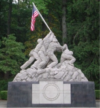 Iwo Jima Memorial Triangle