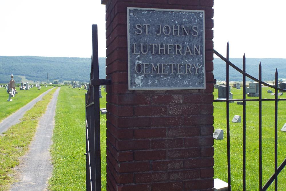 American War Graves Saint Johns Lutheran Cemetery