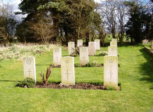 Commonwealth War Graves All Saints Churchyard