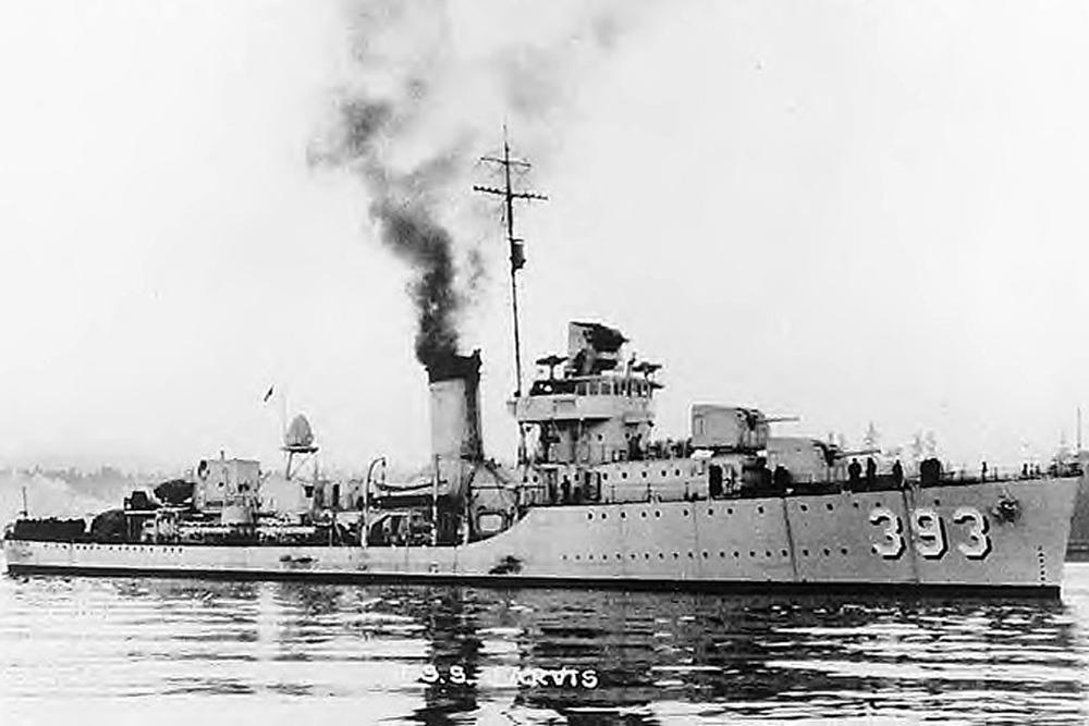 Shipwreck USS Jarvis (DD-393)