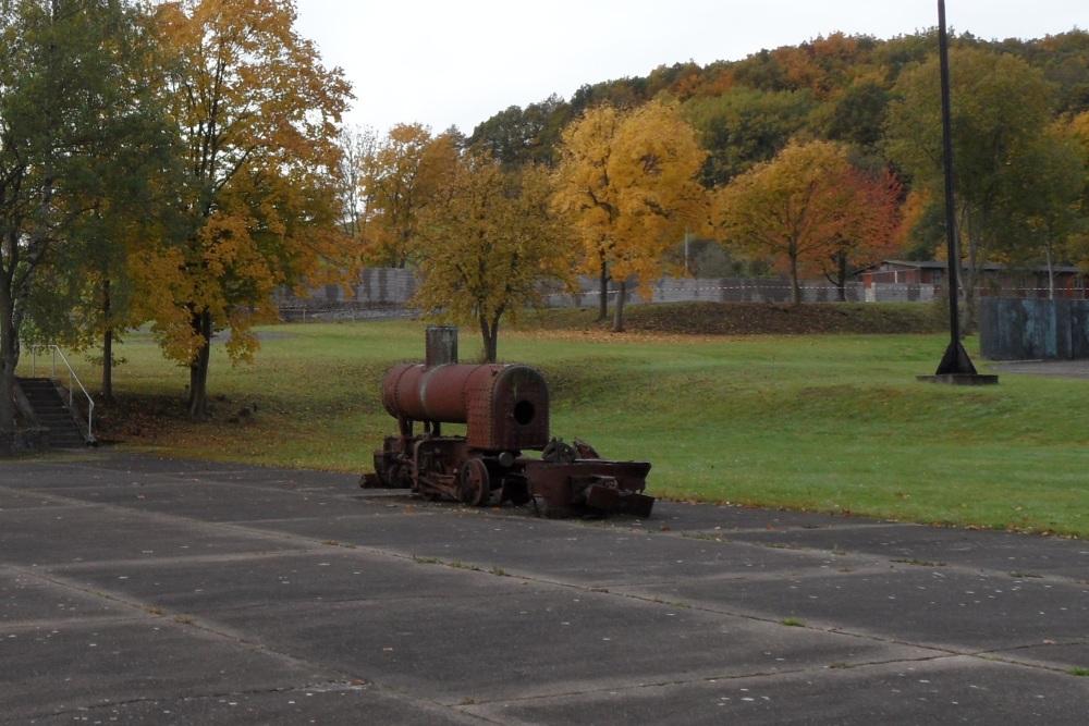 Locomotief Concentratiekamp Mittelbau-Dora