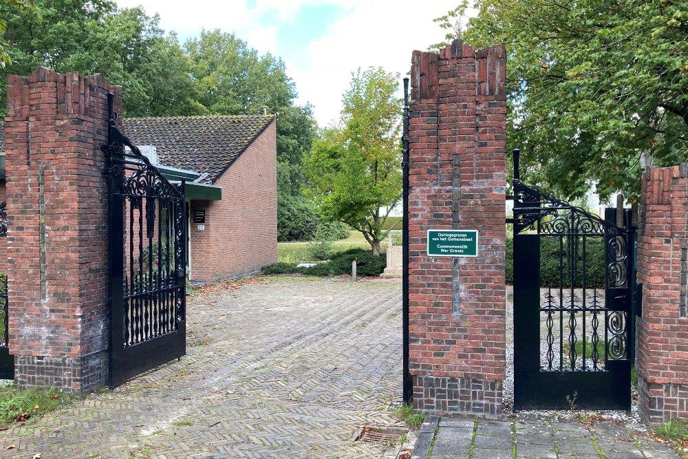 Nederlandse Oorlogsgraven Algemene Begraafplaats Gorredijk