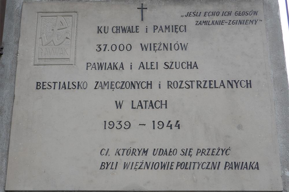 Memorial Polish Victims 1939-1945 St. Stanislaw Kostka Church
