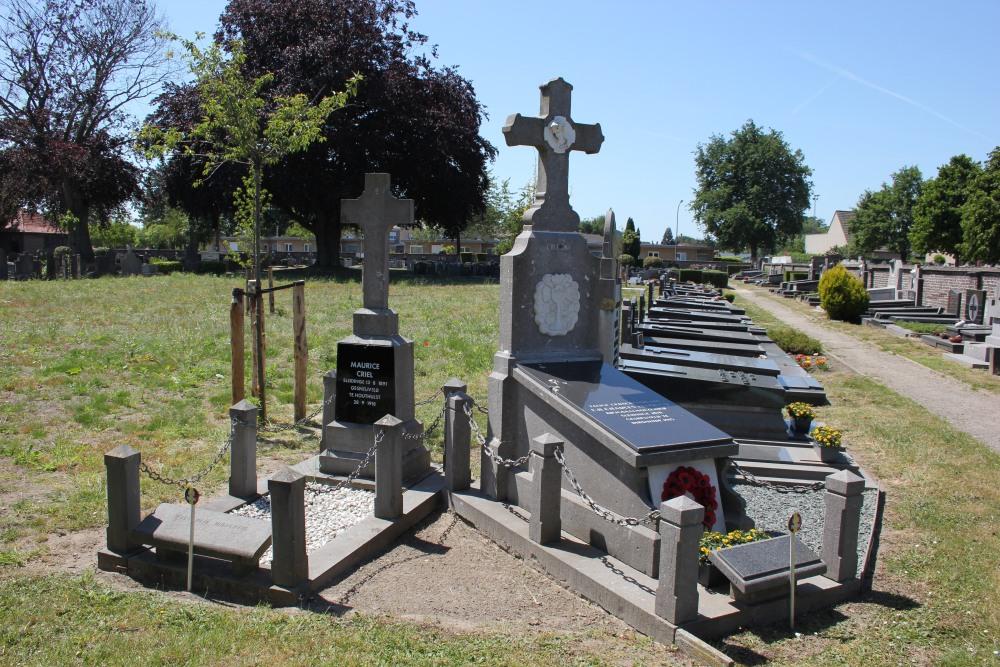 Belgische Oorlogsgraven Sleidinge