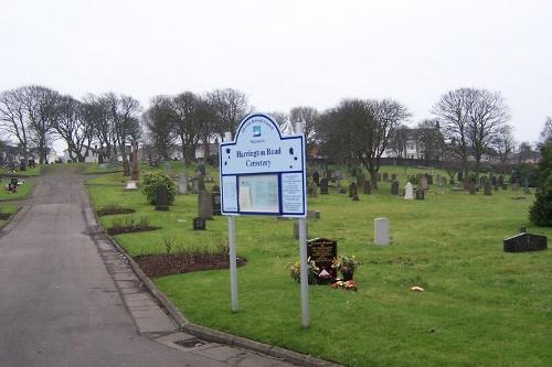 Commonwealth War Graves Harrington Road Cemetery