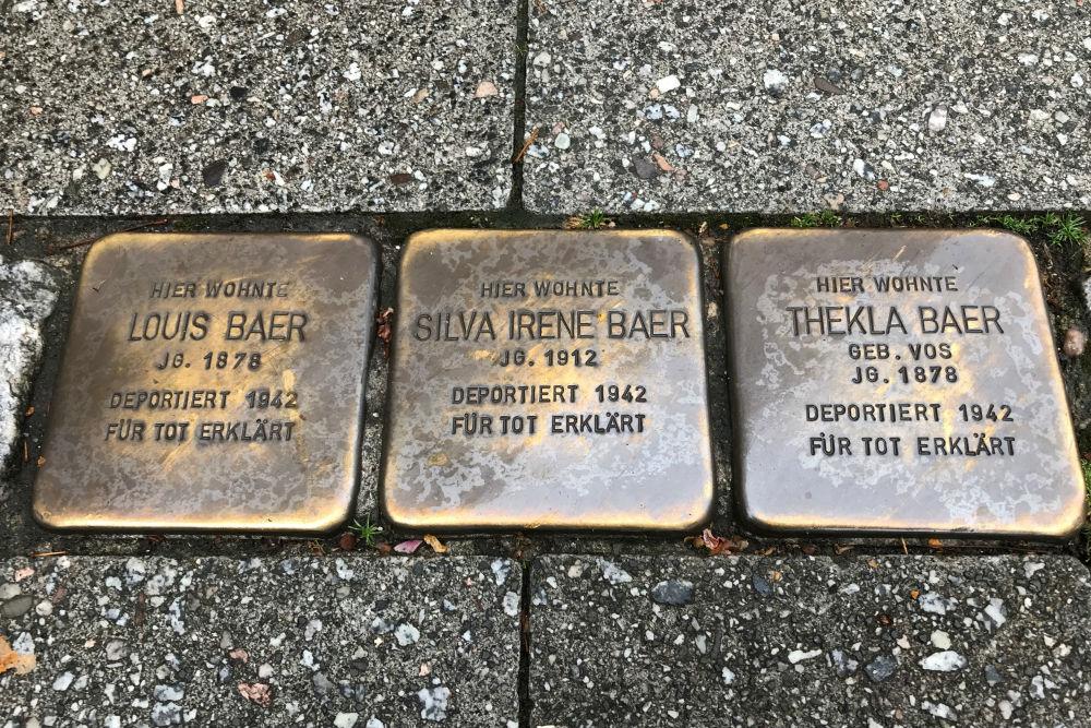 Stumbling Stones Poststraße 10