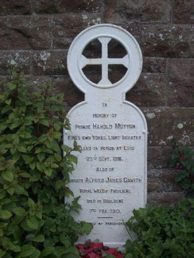 War Memorial Whitbeck