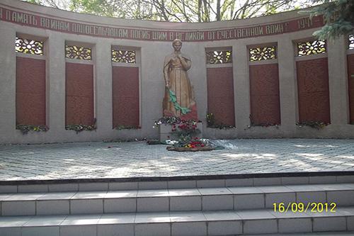 Mass Grave Soviet Soldiers & War Memorial Volodarske