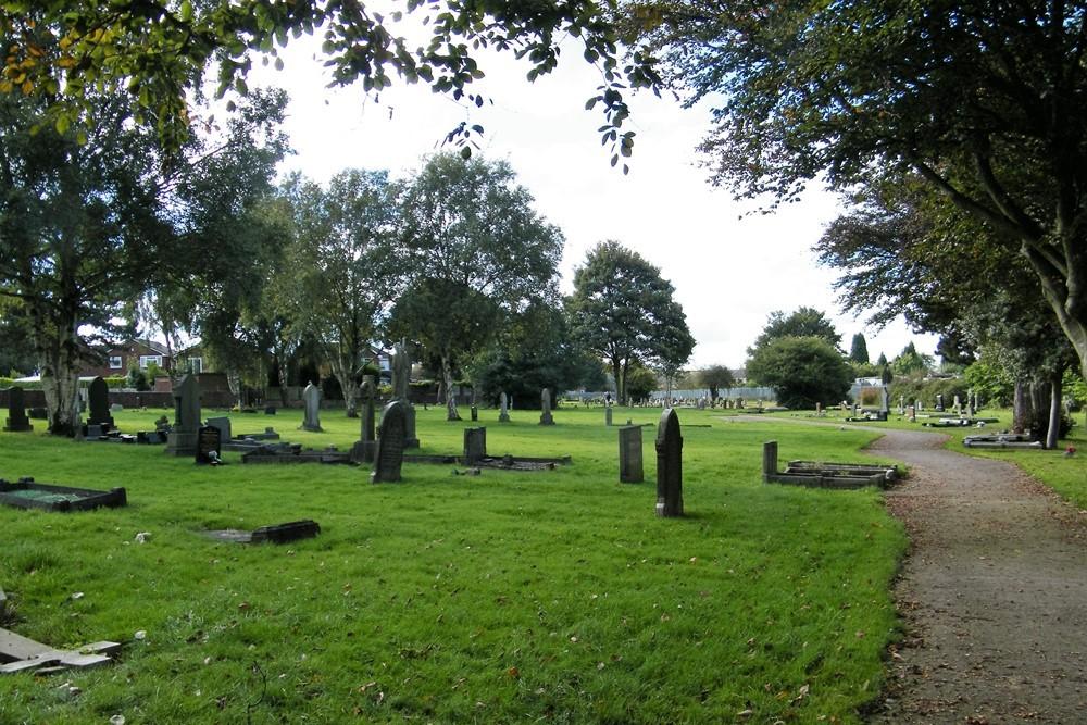 Oorlogsgraven van het Gemenebest Walsall Wood Church Cemetery