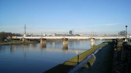 Spoorbrug Krakow