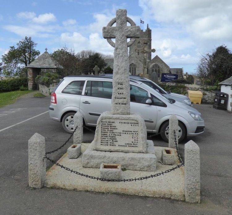 War Memorial Marhamchurch