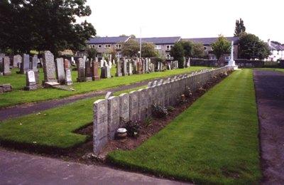 Dutch War Graves Cardonald Cemetery