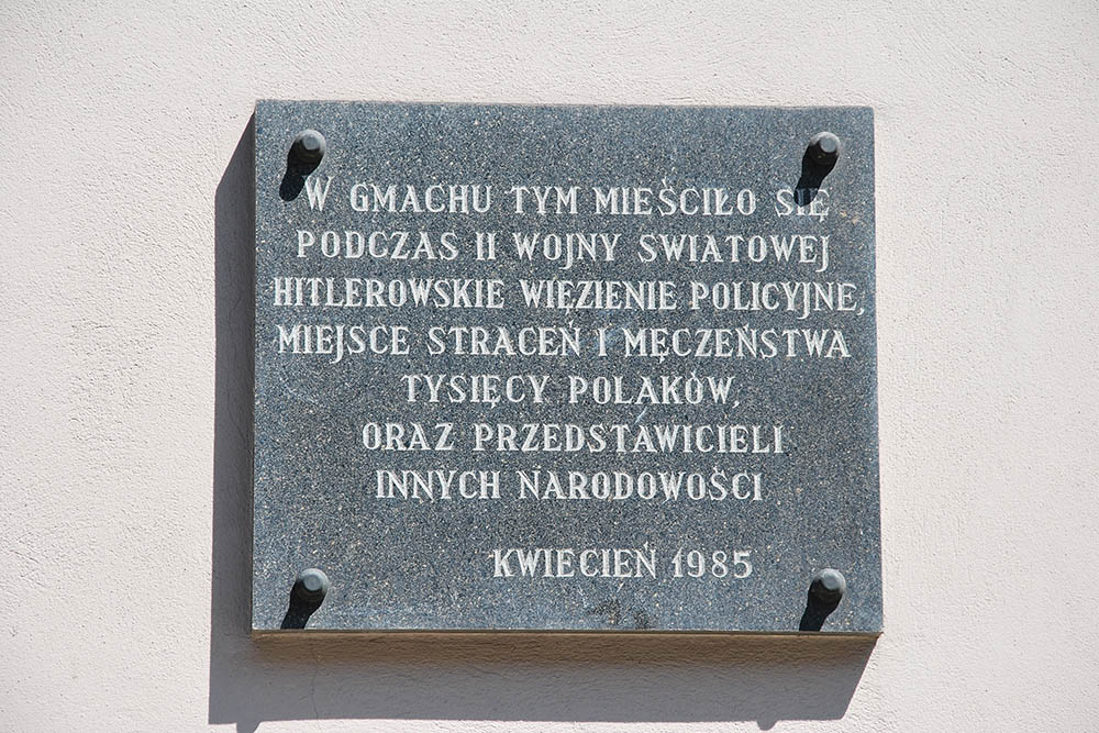 Voormalige (Gestapo) Gevangenis Lodz