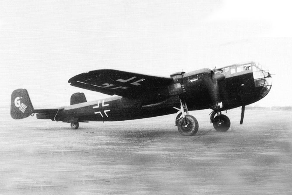 Crashlocatie Dornier Do 217 K-1 4583