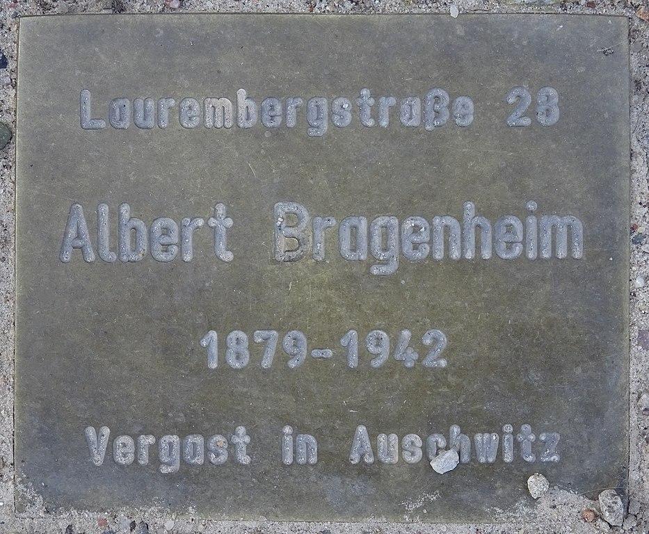Gedenkstenen Laurembergstraße 28