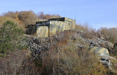 Atlantikwall - Batterie M.K.B. Hysnes 2/506