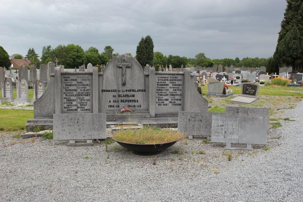 Memorial Deported Blandain