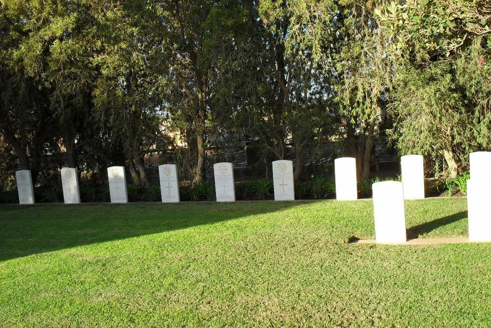 Commonwealth War Cemetery Mallala
