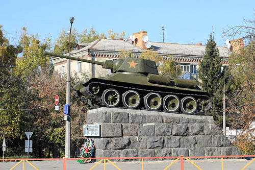 Liberation Memorial (T-34/76 Tank) Khmelnytskyi