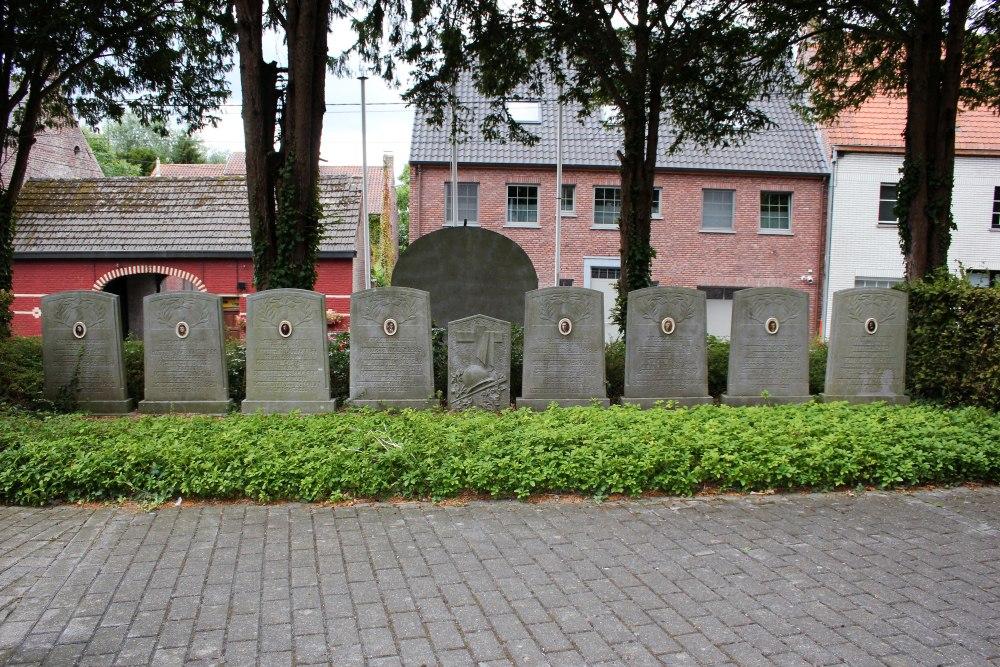 Memorial Stones Sint-Denijs