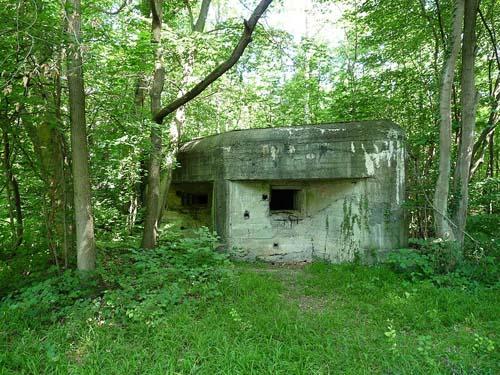 Maginotlinie - STG Kazemat Forêt de la Robertsau (2)