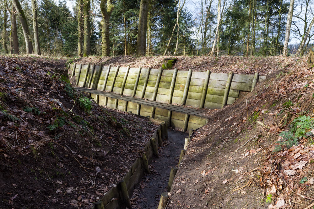 German trenches Beek