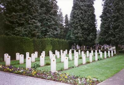 Belgian War Graves General Cemetery Maastricht